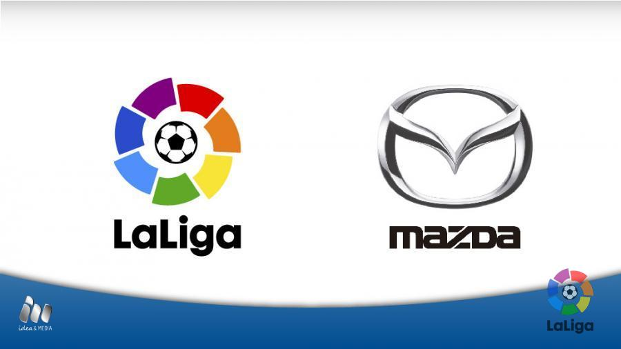 LaLiga Team Up With Mazda News Liga De Fútbol Profesional - Mazda la
