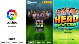 Tres aplicaciones de LaLiga, en la colección