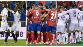 Champions' second test for Sevilla, Atlético and Real Madrid