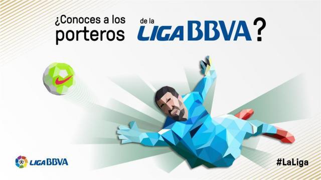 La infografía interactiva de la portería en la Liga BBVA