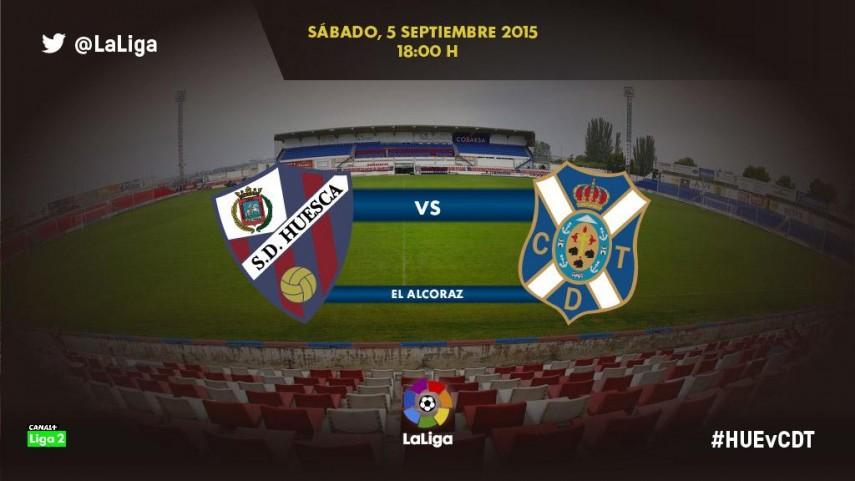 Huesca y Tenerife lucharán por su primera victoria en la Liga Adelante