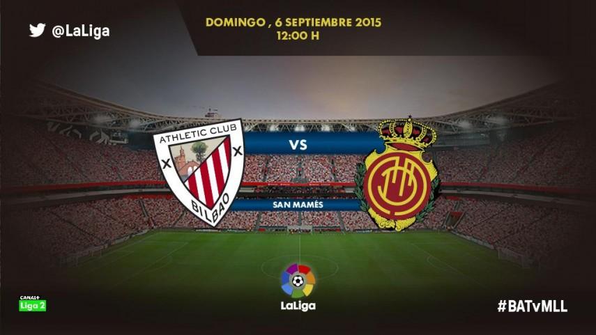 El Bilbao Athletic recibe a un RCD Mallorca al alza