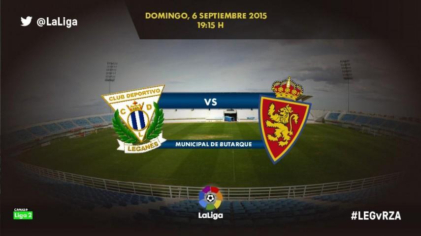 Leganés y Zaragoza buscarán en Butarque su segundo triunfo
