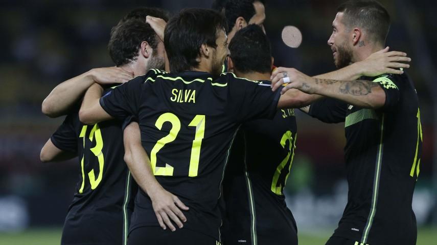 España, a un paso de la UEFA Euro 2016