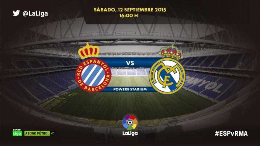 RCD Espanyol y Real Madrid, a por el segundo triunfo de la temporada