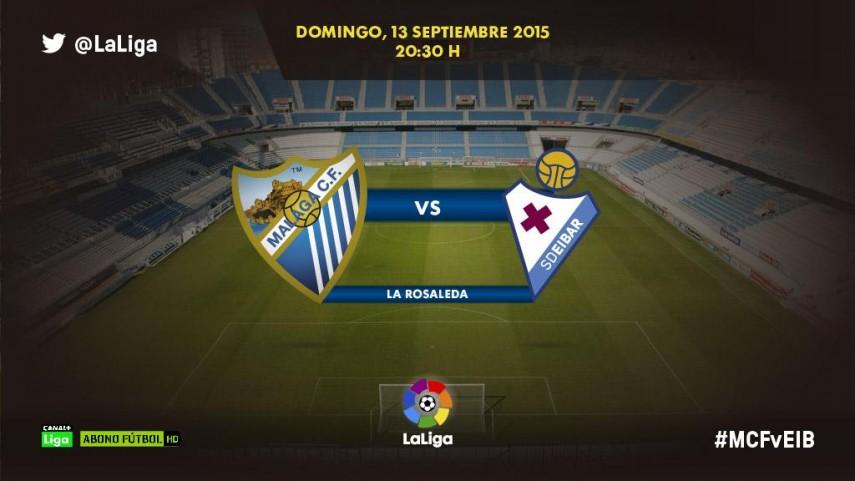 La primera victoria del Málaga pasa por ganar al invicto Eibar