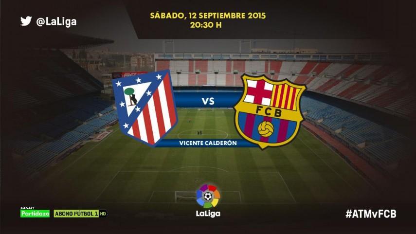 El Vicente Calderón evalúa el buen arranque de Atlético y Barcelona
