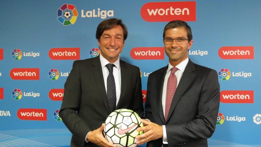Worten y LaLiga firman el acuerdo que une a ambas entidades