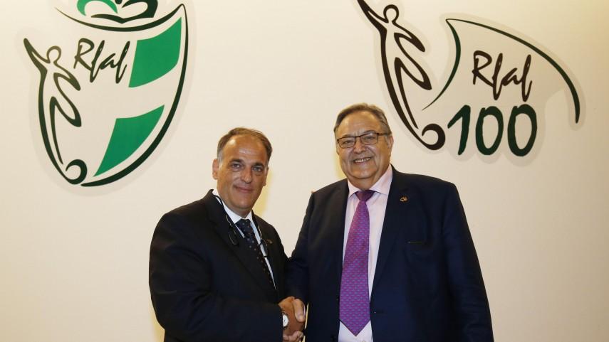 LaLiga felicita a la Real Federación Andaluza de Fútbol