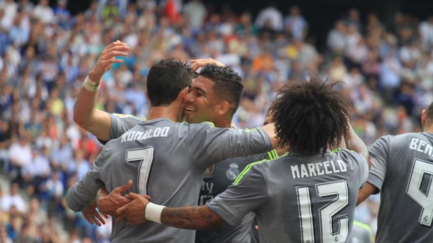 Un histórico Ronaldo lidera la goleada al Espanyol