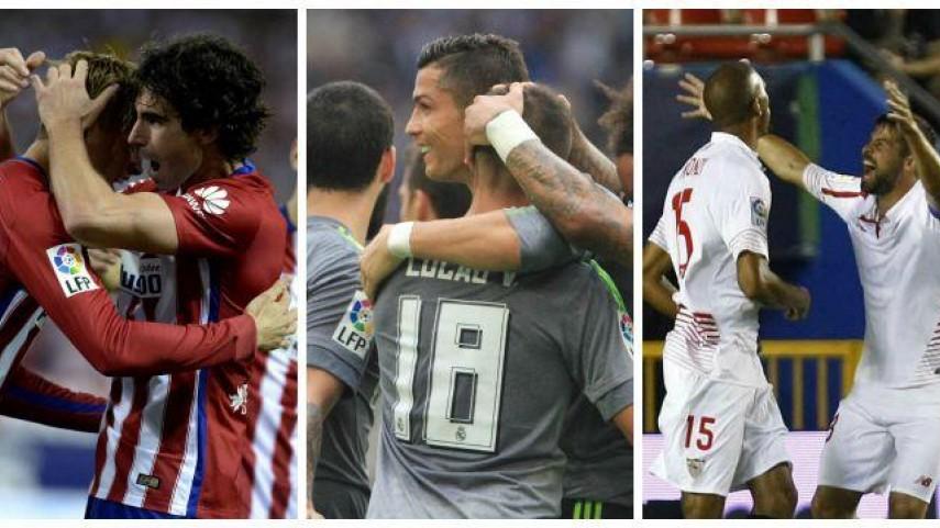 Sevilla, Real Madrid y Atlético empiezan su andadura en la Champions