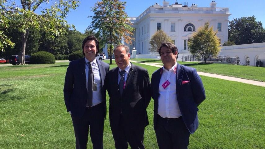 LaLiga lleva la lucha contra la piratería  hasta la Casa Blanca