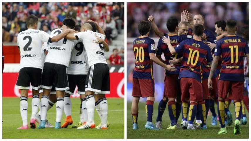Valencia y Barcelona piden paso en la Champions
