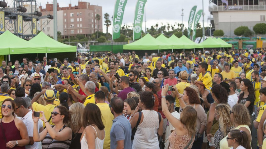 La experiencia en el Estadio de Gran Canaria dura más de 90 minutos