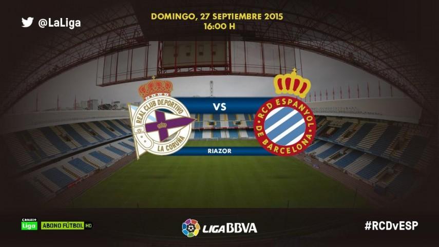 Deportivo y Espanyol quieren prolongar sus rachas