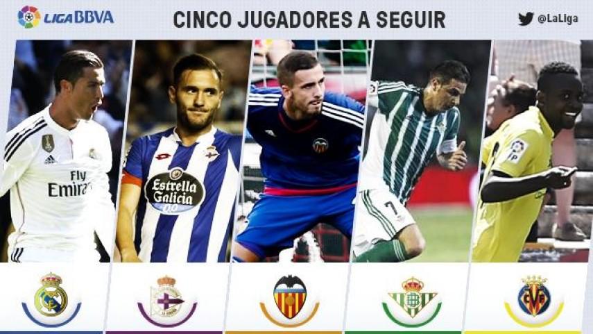 Cinco jugadores a seguir en la jornada 4 de Liga BBVA