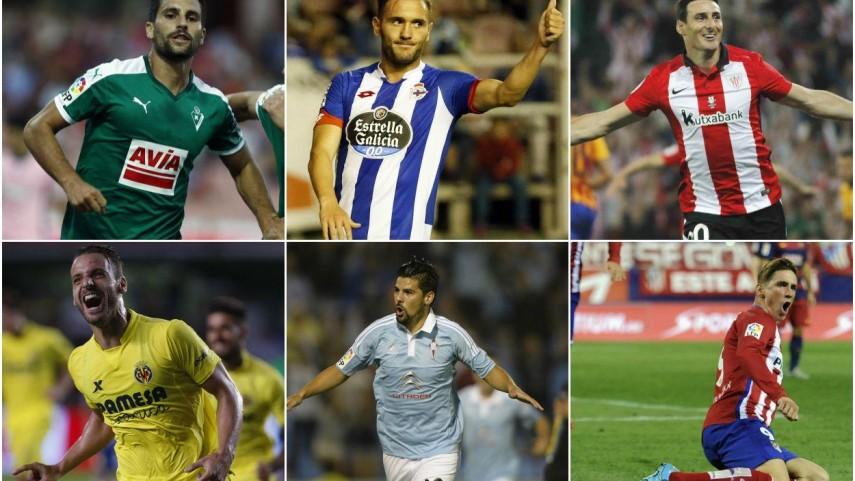 El gol español comanda la Liga BBVA