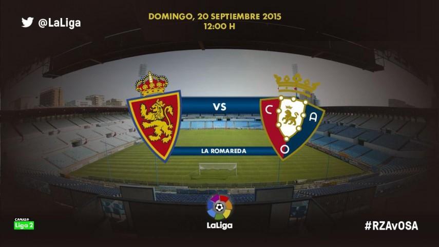 El Zaragoza quiere despejar sus dudas ante Osasuna
