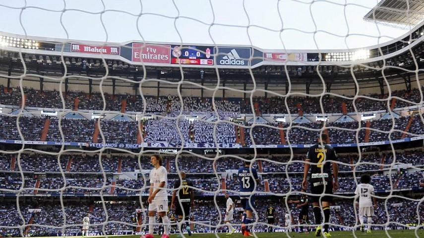 El Madrid echa el cerrojo en el Bernabéu 23 años después
