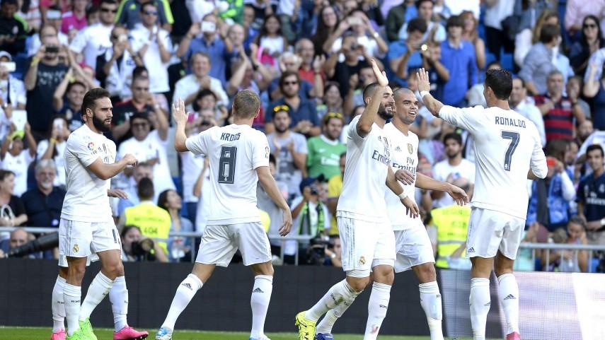 El Real Madrid se impone al Granada por la mínima