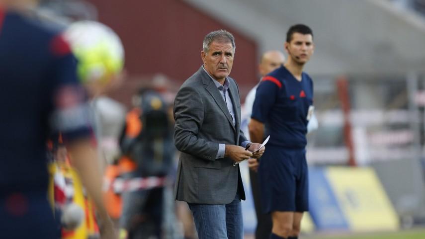 Paco Herrera, destituido como entrenador de Las Palmas