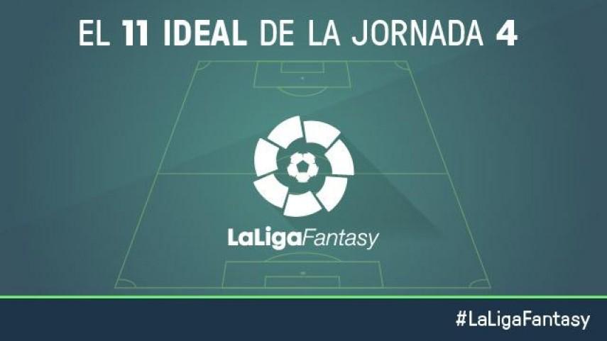 El once ideal de LaLiga Fantasy en la jornada 4