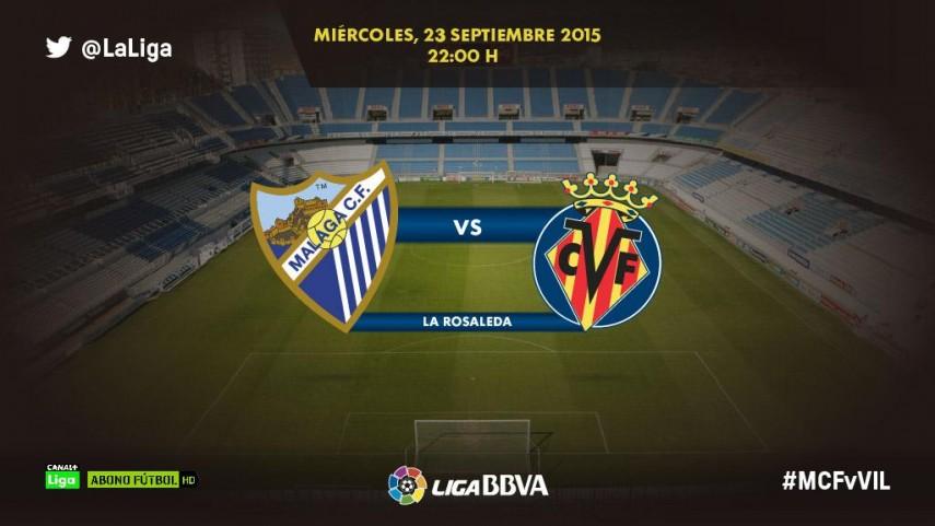 El Málaga busca aprovechar las ausencias del Villarreal