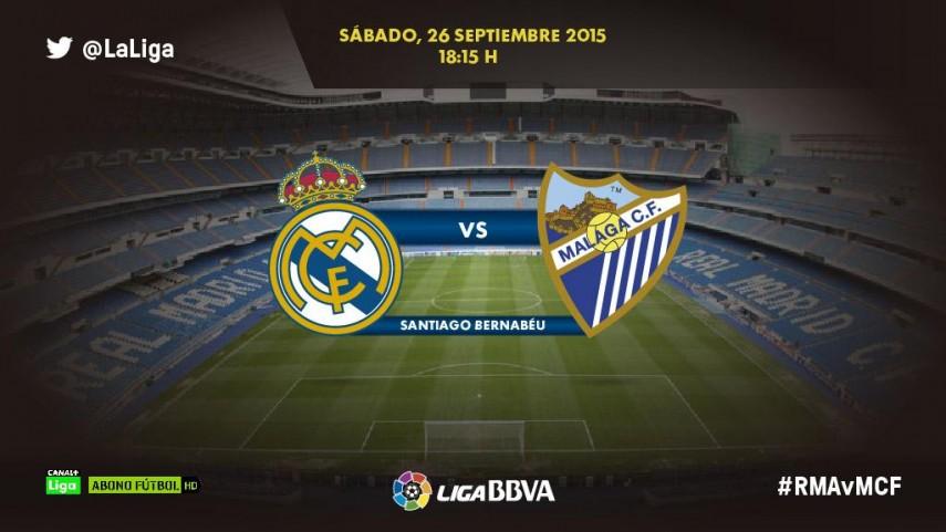 Todo al gol en el R. Madrid - Málaga CF
