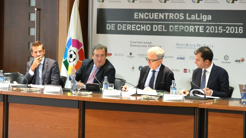 2º Encuentro LaLiga de Derecho del Deporte 2015-2016