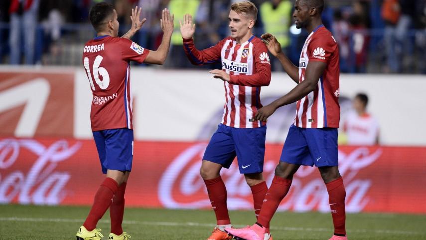Griezmann le da la victoria al Atlético