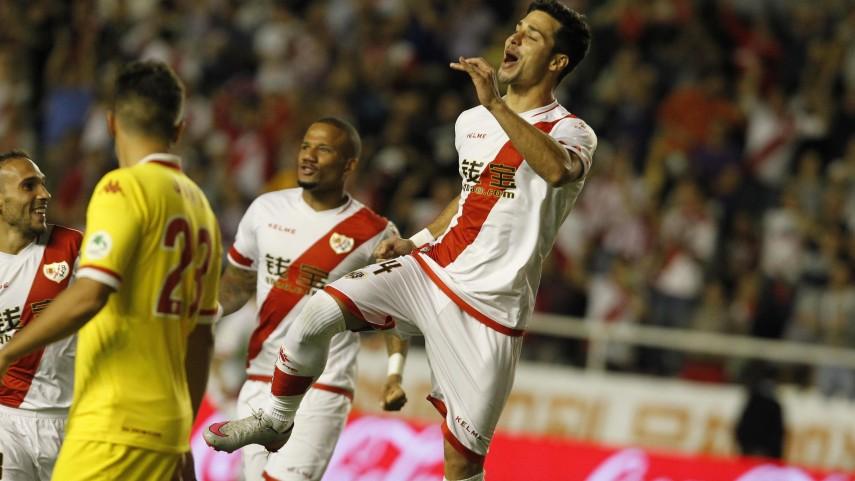 Javi Guerra, el nuevo hombre gol del Rayo Vallecano