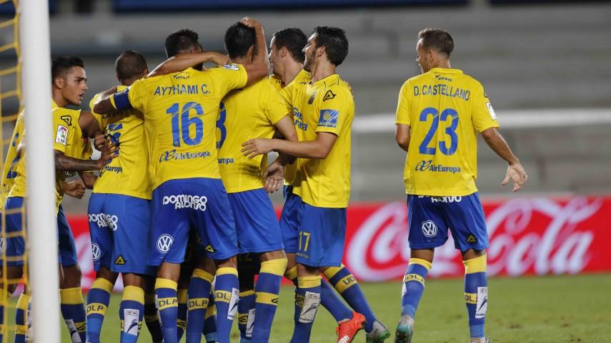 Primera victoria de Las Palmas en la Liga BBVA
