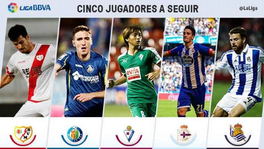 Cinco jugadores a seguir en la jornada 6 de Liga BBVA