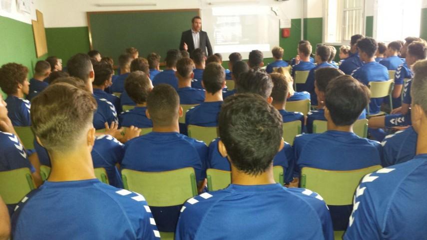 El CD Tenerife, protagonista de los talleres de integridad de categorías inferiores de LaLiga
