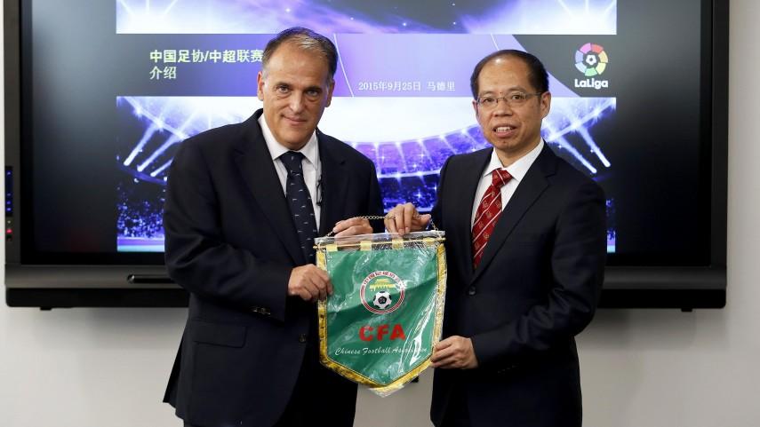 LaLiga, cada vez más presente en China