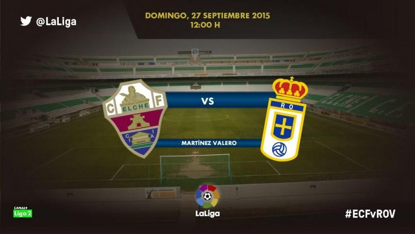 El Real Oviedo busca entrometerse en la racha ilicitana