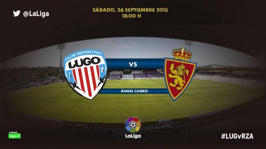 El Real Zaragoza, siguiente reto para un Lugo invicto