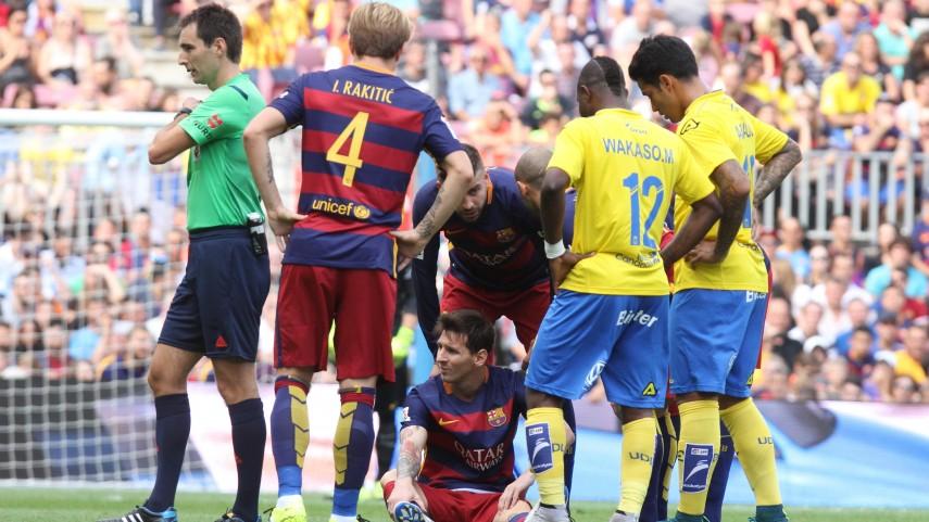 Leo Messi, baja de siete a ocho semanas