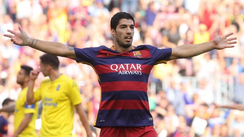 Luis Suárez lidera la victoria del Barcelona ante Las Palmas