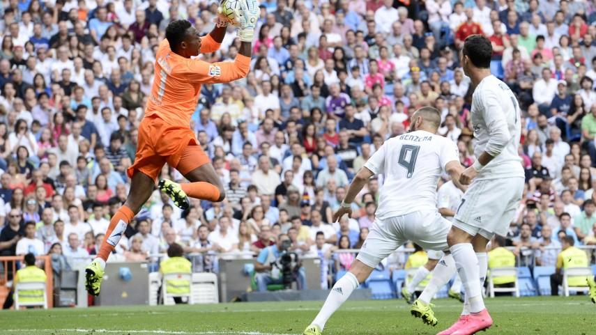 Kameni detiene al Real Madrid