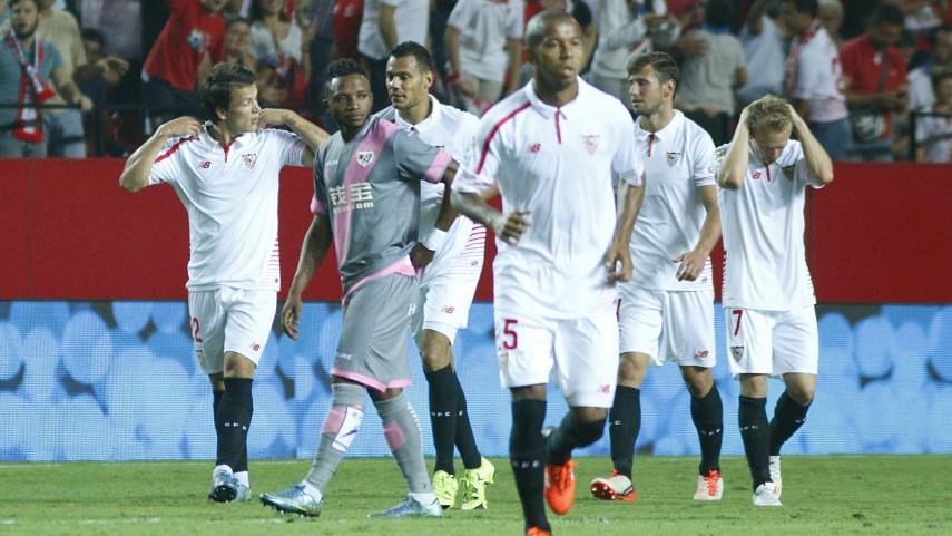 El Sevilla consigue su primer triunfo en la Liga BBVA