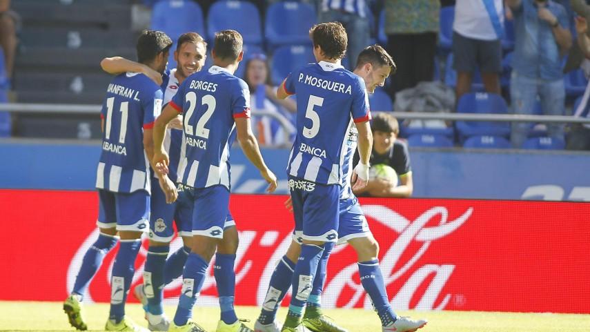 Lucas Pérez guía al Deportivo