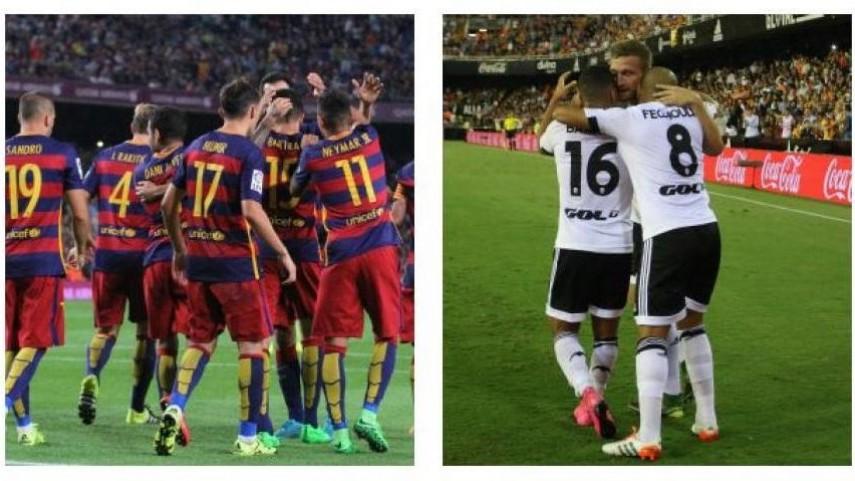 Barcelona y Valencia buscan su primer triunfo en la Champions