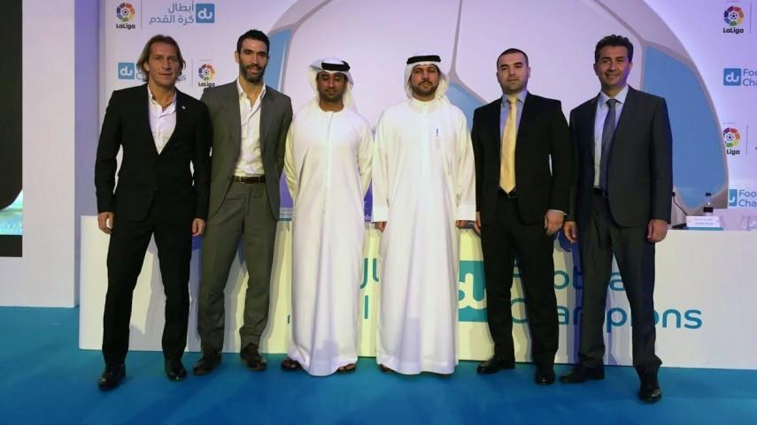 LaLiga colaborará en la formación de jóvenes futbolistas en los Emiratos Árabes Unidos