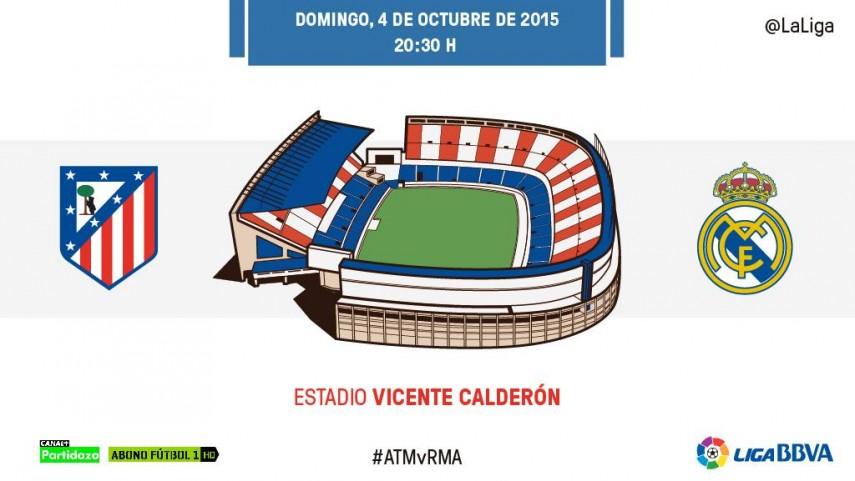 El Vicente Calderón se viste de gala para el derbi