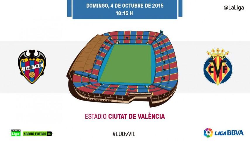 El Levante reta a un Villarreal que quiere seguir soñando