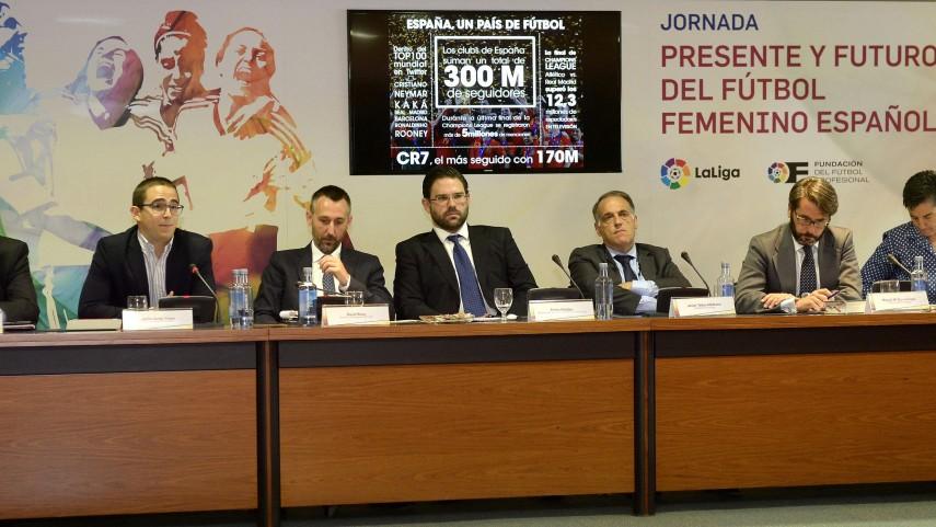 LaLiga se vuelca con el 'Presente y Futuro del Fútbol Femenino Español'
