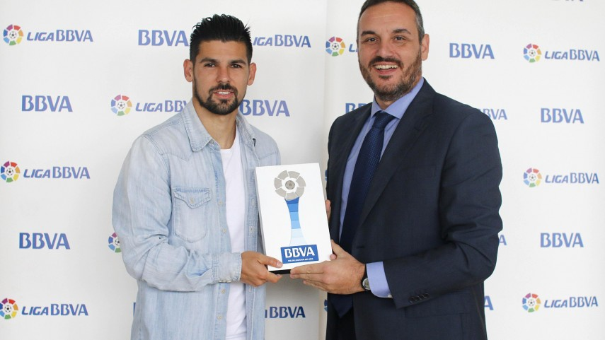 Nolito, mejor jugador de la Liga BBVA en septiembre