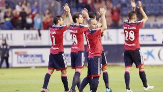 Osasuna keeps winning and remains at the top of Liga Adelante