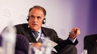 Javier Tebas debate sobre el futuro de la FIFA: